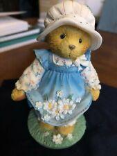 "Cherished Teddies ""Catching the First Blooms of Friendship"" figurine"