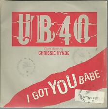 45 TOURS  UB 40  I GOT YOU BABE