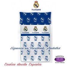 Juego De Sabanas Licencia Real Madrid Manterol Cama 90 Cm