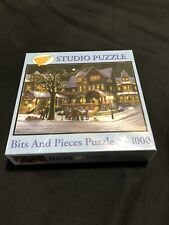 1000 Bits & Pieces Holiday Puzzle The Carolers by H. Hargrove factory sealed