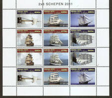 Aruba 2011 Schepen Ships Sailing-boats zeilschepen MNH sheet
