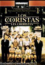 LOS CORISTAS (Les Choristes) 2004-NEW DVD -Frances & Doblada al Espanol