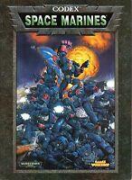 WARHAMMER 40.000-CODEX-SPACE MARINES-GAMES WORKSHOP-sehr selten-Rarität