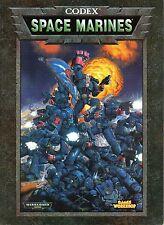 Warhammer 40.000 - Codex-Space Marine del-GAMES WORKSHOP-MOLTO RARO-RARITà