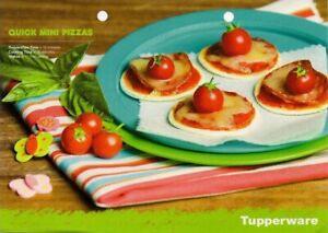 Tupperware recipe card