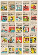 Matchbox Covers; Safety; Full Set 1-64; BryMay Bryant May; 1900's