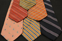 Lot of 6 JOS A BANK Neckties - incredibly cheap price! Grab it! E5