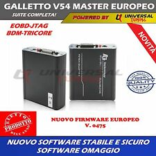 FG TECH GALLETTO 4 V54 VERSIONE EUROPEA MASTER  JTAG - BDM - TRICORE DPF EGR