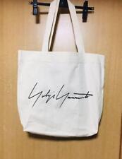 d31bd5b520be Yohji Yamamoto Tote Bag White Aoyama shop Exclusive VIP Gift New