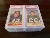 1974 TOPPS FOOTBALL PSA 9 MINT -- PICK ANY CARD(S) FROM THE LIST -- FREE SHIP