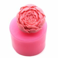 Us Rose Flower Candle Soap Mold Silicone Soap Making Mould Diy Handmade Mold Diy