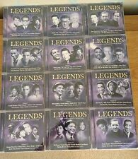 Legends 20 Volumes/CD's, 319 Songs Performed by Original Artists