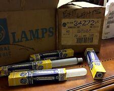 GE Lighting 20W, T6 1/2 Incandescent Light Bulb, 20T61/2/F-120V Frosted Lamp