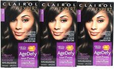 3 Clairol Nice N Easy Age Defy 3 Black Advanced Coverage For Gray Perm Hair Dye