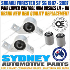Subaru Forester SF SG 1997-07 Front Lower Control Arm Inner Bush Kit LEFT+RIGHT