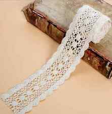 NEW 2 yards Cotton Knitted Lace Trim Wedding dress clothing accesories 5.8cm