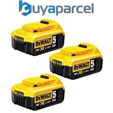 3 x Dewalt DCB184 5.0ah 18v XR Li-ion Batería de ion de Litio
