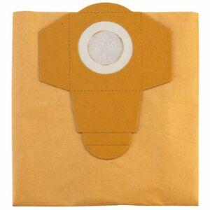 Einhell Sacs d'aspirateur convenable pour aspirateurs de 30 L 5 pièces