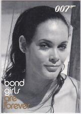 JAMES BOND IN MOTION BOND GIRLS ARE FOREVER INSERT BG62 MARTINE BESWICK PAULA
