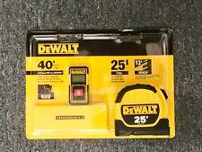 DeWALT Laser Distance Measurer & 25 Ft Tape Measure Combo Pack DWHT43239