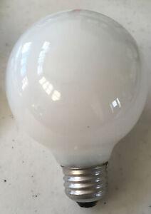 Permalite 25 Watt 130 V White Incandescent G25 Medium Base Globe Light Bulb