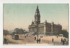 Portsmouth Town Hall [JWS 1] 1904 Postcard 777a