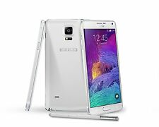 "Blanco 5.7"" Samsung Galaxy Note4 N910T 32GB 4G 16MP Libre Telefono Movil Android"