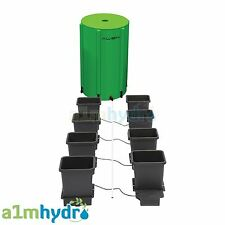 AutoPot 8 Pot System 100l Flexi Tank Res 15l Grow Kit 16mm Pipe Hydroponics