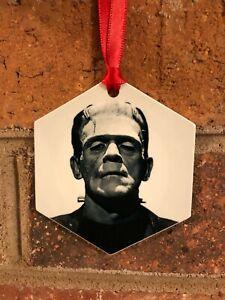 Frankenstein Aluminum Halloween Christmas Ornament