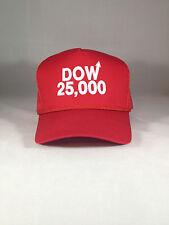 Dow 25000 Red Hat Dow 25,000 Cap DJIA Stock Market 20000 30000 20,000 30,000