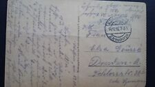 WWI POSTCARD MONTIGNY FRANCE GERMANY OCT 1916 ARMEEKORPS ARMY MILITARY