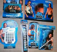 Wwf smack down Collectable Job Lot of items great for any super fans