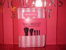 Victoria'S Secret Love Vs Travel Makeup Portable Brushes Set Kit Eye Shadow Pink