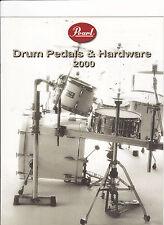 VINTAGE MUSICAL INSTRUMENT CATALOG #10544 - 2000  PEARL DRUM PEDALS & HARDWARE