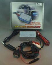 FM Stereo Modulator for Car FM Radio System - iPod / MP3 / DVD / 3.5 / RCA 12V