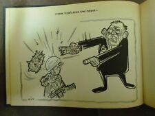 IDF 6 DAY WAR VICTORY E. KISHON & DOSH CARICATURE BOOK 1967 ISRAEL