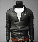 ★PELLE 100%★ Giacca Giubbotto in di Pelle Uomo Men Leather Jacket Veste Cuir m3p