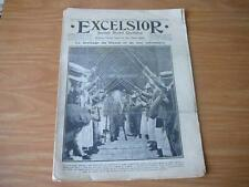 journal Excelsior 06 09 1916 mariage du blessé et de l'infirmière  guerre 14-18