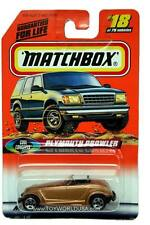 1998 Matchbox #18 Cool Concepts Plymouth Prowler