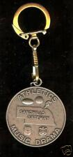 old ATHLETICS Music DRAMA Keychain Sandhills Gateway