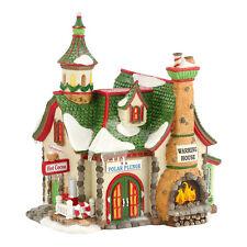 Dept 56 North Pole Polar Plunge Warming House Lit Building D56 Village 4030718