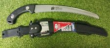 Arborists pro curved pruning HD Tiger Tooth Saw + Belt Leg Case tree branch