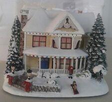 ----Thomas Kinkade Christmas Express Train Hawthorne Village Victorian Homestead