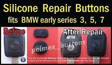 fits BMW 3 5 7 series X3 remote key Fob - 2 repair key Buttons