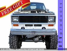 GTG 1983 - 1988 Ford Ranger 1PC Gloss Black Billet Grille Grill Insert