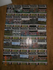 More details for 25 x 1987/88 newcastle united match magazine football programmes - vol 11 #1-25
