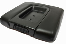 Real Leather WIDE Black Console Armrest Cover Fits 14-18 Chevy Silverado,Sierra
