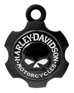 Harley-Davidson Axel Shape Willie G Skull Ride Bell - Black Finish HRB099