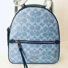 Coach 91501 Jordyn Backpack in Signature Denim Shoulder Bag