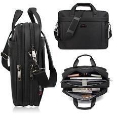 For Business/College/Women/Men Laptop Briefcase 15.6 Inch Oxford Shoulder Bag AU